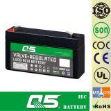 batterie 6V1.3AH rechargeable, pour la lumière Emergency, éclairage extérieur, lampe solaire de jardin, lanterne solaire, lumières campantes solaires, torche solaire, ventilateur solaire, ampoule