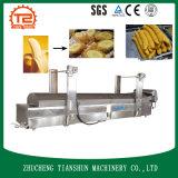 De automatische Elektrische het Verwarmen Machine van de Verwerking van de Banaan van de Machine van de Braadpan Spaanders Gebraden