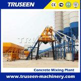 Equipamento de construção 35m3 / H Wet / Dry Mix Concrete Batching Plant