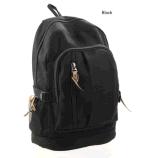 Мешки перемещения мешка школы Backpack холстины спорта элегантные вскользь
