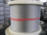 Corde de fil d'acier d'Ungalvanized de qualité