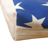 Eco Friendly Sac à bandoulière réutilisable Sac en toile en coton avec fermeture à glissière