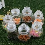 Jarro de doces hermético / Pote de pedreiro / Jarro de velas / Jarro de armazenamento de vidro com grampo / braçadeira / tampa de bloqueio