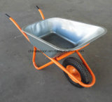 As ferramentas agriculturais com borracha rodam o Wheelbarrow Wb6404