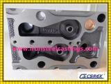 Головка цилиндра двигателя тележки чугуна OEM с подвергать механической обработке