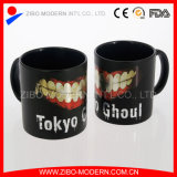 Stocked 20oz Cylinder Shape Mug with Foil Design