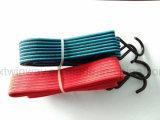 Cuerda elástico de goma del equipaje del metal