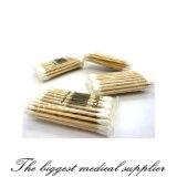 Botões descartáveis médicos de /Cotton do cotonete de algodão