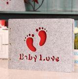 10 polegadas do material Handmade de feltro do estilo novo creativo colaram o álbum do bebê