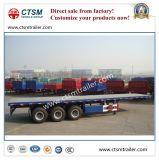 Behälter-Transport-Plattform-halb Schlussteil des Hilfs40ft
