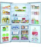 720lit refrigerador de lujo de las puertas del diseño 4