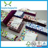 Fábrica de empacotamento das caixas da amostra vazia cosmética luxuosa em China