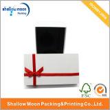 빨간 리본 및 Balck Liing 백색 수송용 포장 상자 (QY150032)