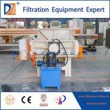 Imprensa de filtro automática do equipamento do tratamento da lama do Wastewater do hospital