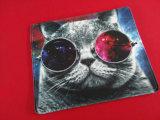 Tapis de souris promotionnel personnalisé avec l'impression polychrome