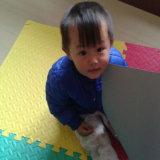 Esteira do jogo da espuma do bebê (KHMAT)