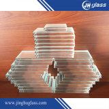 Vidrio de flotador blanco de la cena ultra clara del Inferior-Hierro