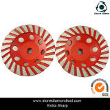Marble & Granite를 위한 125mm Coarse Diamond Grinding Wheels