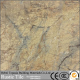 無作法なセラミックタイルの石のカラーによって艶をかけられた磁器の床の壁のタイルマットは終わった