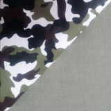 Tragbare Camouflage Pattern PU Faux Leather für Garment