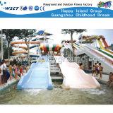 Скольжение воды детей составляет спортивные площадки парка атракционов (M11-04908)