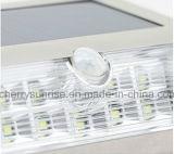 Quintal solar do detetor de movimento que ilumina a montagem solar ao ar livre da parede das luzes