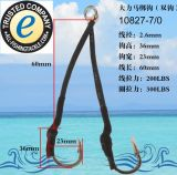 Gabarit de fil de poissons de fil d'attrait de pêche de Pilker de mer profonde