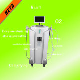 Machine van de Schoonheid van O2 van de Apparatuur van de Injectie van de Zuurstof van de Massage van het KUUROORD de Straal voor de Verjonging van de Huid van de Salon