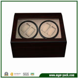 Wooden laccato Rotating Automatic Watch Box con Window