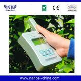 Het Chlorofyl van het blad, Meter van het Voedingsmiddel van de Installatie van de Stikstof de snel Testende