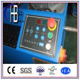 """2 """"クイックチェンジのツールの油圧ホースのひだ付け装置への熱い販売1/4 """""""