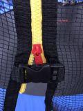 Круглый половинный Trampoline Поляк с внутренней безопасностью Enclosure07