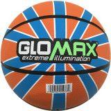 Baloncesto oficial colorido de goma de Glomax