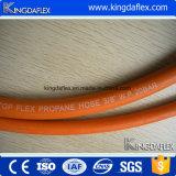 Boyau orange de gaz de propane de tuyaux d'air de LPG