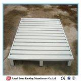 Сверхмощный стальной паллет с сертификатом ISO9001 для хранения пакгауза