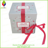 Lid e Base Foldable Chocolate Packaging Box com Two Layers