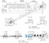 Oip 콘덴서 변압기 투관 (밑바닥 연결)