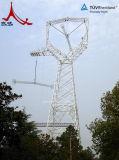 送電の角度の鋼鉄タワー