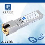 20. Fabrik-Hersteller der kupferner Lautsprecherempfänger SFP-optischer Baugruppen-100m RJ45 China