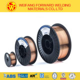 Er70s-6二酸化炭素の中国の製造業者からのガスによって保護される溶接ワイヤ