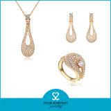 Unieke Grote Zilveren die Juwelen met het Ontwerp van de Douane worden geplaatst (j-0041)