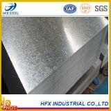 Placa de aço galvanizado revestido com zinco quente com Z 40g-275g