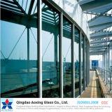 Bronze/vidro reflexivo do verde/cor para a parede/vidro do edifício