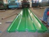 Panneau en acier de toit d'onde matérielle