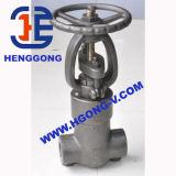API/DIN schmiedete Stahlgeschweißtes Kugel-Hochdruckventil