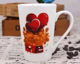 Tasse de café faite sur commande en céramique bon marché de cuvette de thé avec la qualité