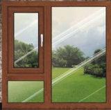 Finestra di vetro personalizzata nuovo disegno della stoffa per tendine di alluminio con la finestra fissa (ACW-067)