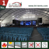 tente d'envergure claire large de 60m grande pour le concert de musique de 5000 personnes