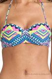 Qualität aufgefüllter Underwire Dame-reizvoller Bikini