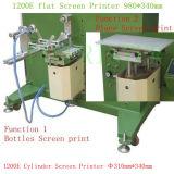 Высокое Качество 1000X900X1300mm 1200PCS / Час Пневматический Цилиндр Экране Принтера для Малого Круглый Объект (TM-300E)